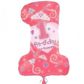 (tommy party) palloncino numero 1 delle principesse