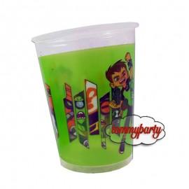 bicchieri plastica ben ten pezzi 10