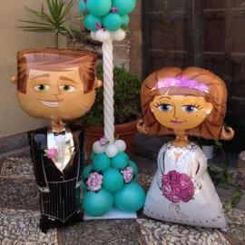 palloncino a forma di sposa