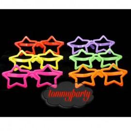 occhiali maxi a forma di stella