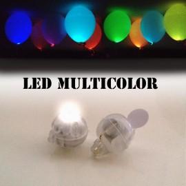 led multicolor a batterie per palloncini pz.1