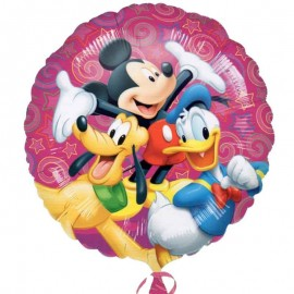 palloncino con Topolino, Paperino e Pluto