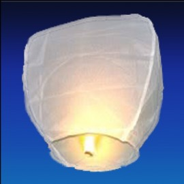 lanterna cinese bianca