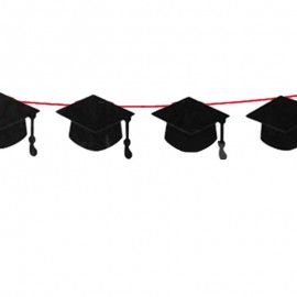 festone sagoma tocco per laurea