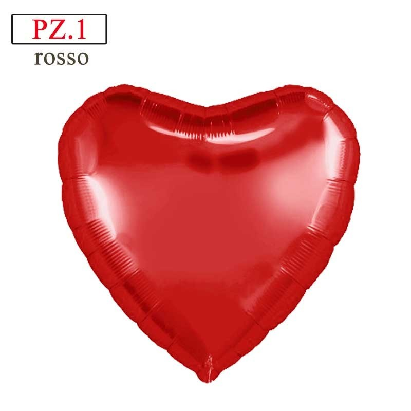 palloncino cuore rosso in mylar
