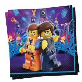 tovaglioli lego movie 2 da 16 pezzi