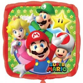 palloncino quadrato super Mario