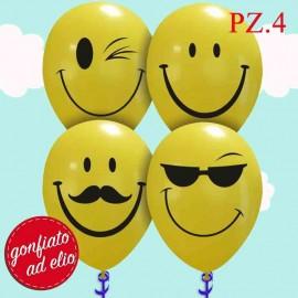 "Palloncino Smile 12"" pezzi..."