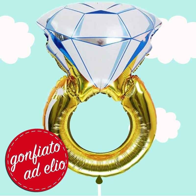 palloncino diamante ad elio