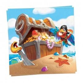 tovaglioli pirati e tesoro