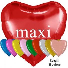 cuore palloncino rosso maxi