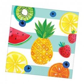 tovaglioli stampa frutta