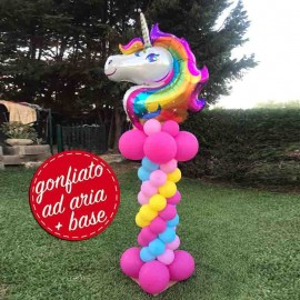 composizione unicorno arcobaleno
