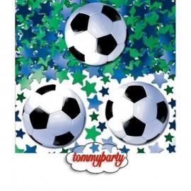 decoro tavolo confetti tema calcio