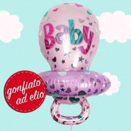 palloncino ciuccio baby girl