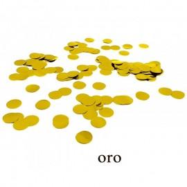 coriandoli metallizzati oro