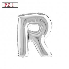palloncino lettera R misura media