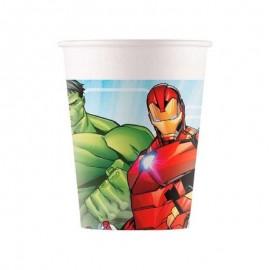 8 bicchieri degli Avengers
