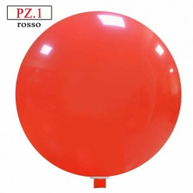 pallone rosso da cm120