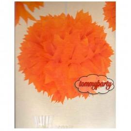 Pom Pom Arancione cm.30