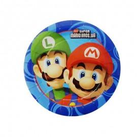 piatti rotondi piccoli super Mario