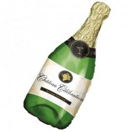 palloncino bottiglia champagne maxi