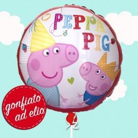 palloncino ad elio di Peppa e George