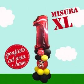 Numerone 1 Rosso Mylar XL...