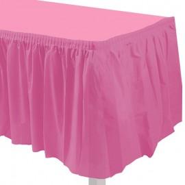 gonnellina tavolo hot pink