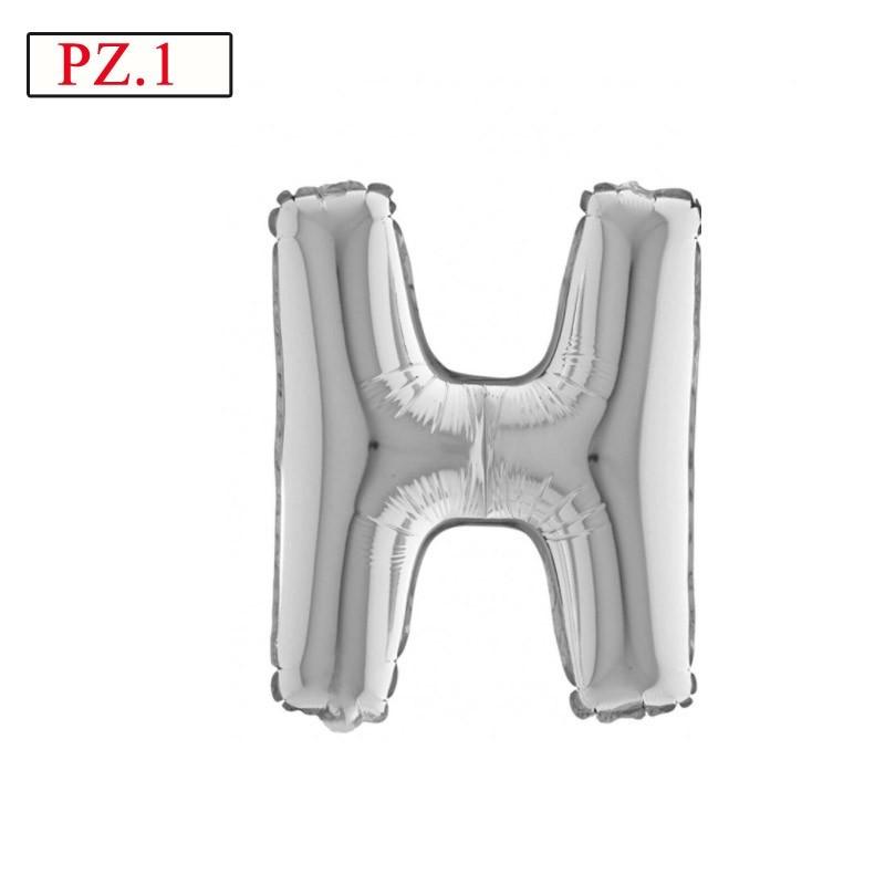 palloncino lettera H misura media
