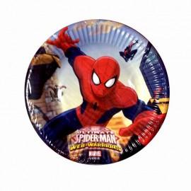 Piattini Spiderman Piccoli Pz.20