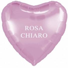palloncino cuore rosa cm. 80