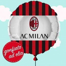 palloncino Milan gonfiato ad elio