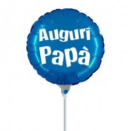 palloncino mini shape auguri papà