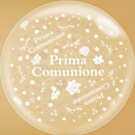 palloncino bubble 24 prima comunione