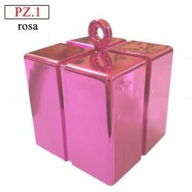 pesetto rosa gift box per palloncini ad elio