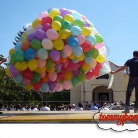 rete per 500 palloncini ad elio
