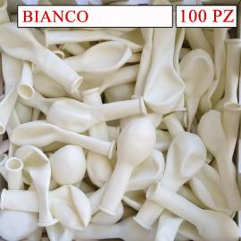 palloncini colore bianco da 5 pollici pezzi 100