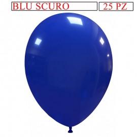 25 palloncini 10 pollici blu scuro pastello