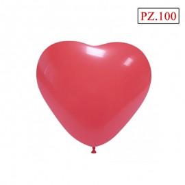 palloncino cuore rosso da cm.16