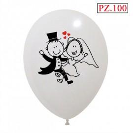 palloncini sposini 100 pezzi