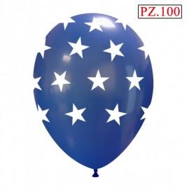 palloncino lattice stampa stelle grandi