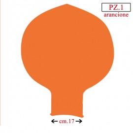 pallone collo largo 70 pollici arancione