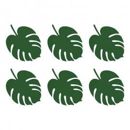 foglie verdi per decorazioni