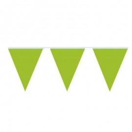 bandierine verde lime