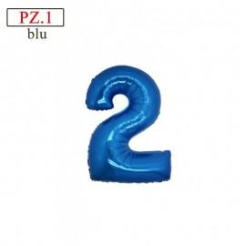"""Mylar Mini Numero """"2"""""""