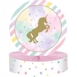 centrotavola unicorno sparkle