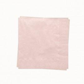 20 tovaglioli rosa chiaro