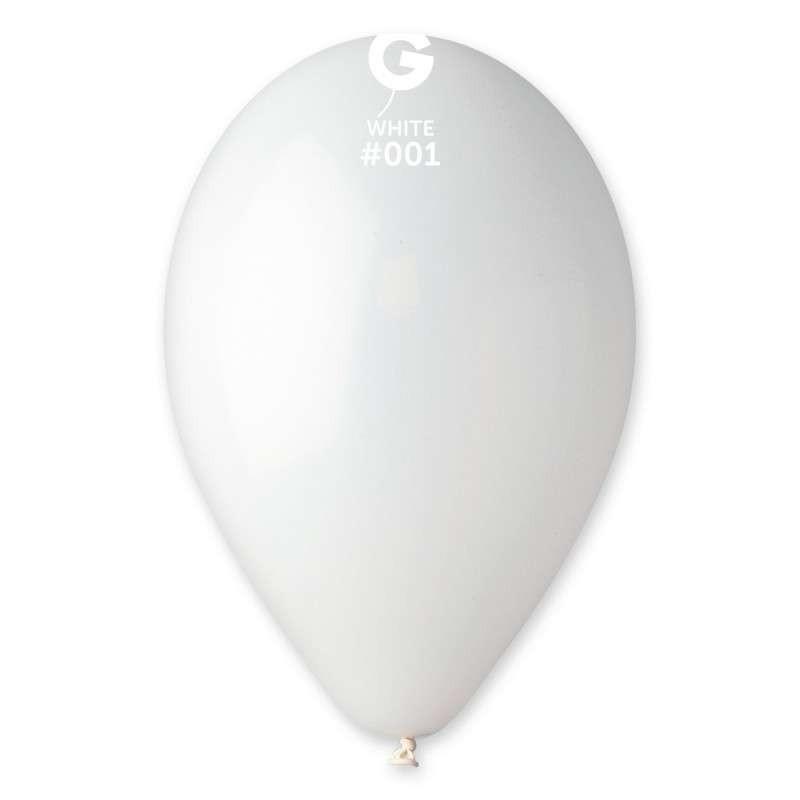 palloncino 13 pollici bianco