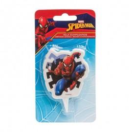 candela Spiderman cera